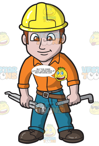 A Charming Male Plumber