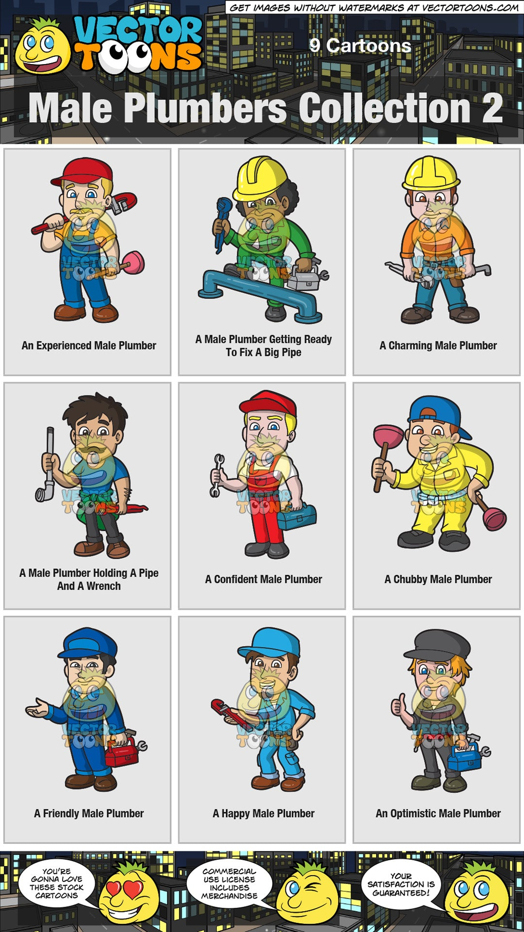 Male Plumbers Collection 2