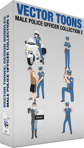 Male Police Officer Collection 2