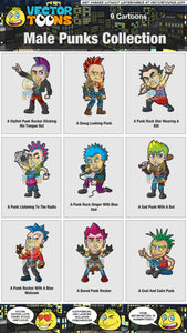 Male Punks Collection