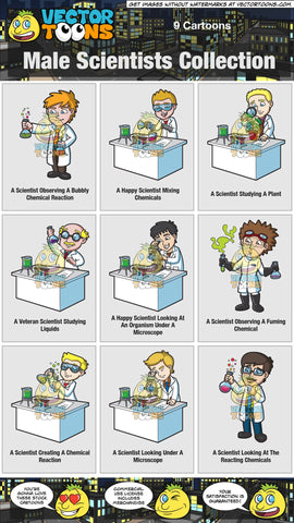 Male Scientists Collection