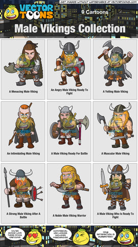 Male Vikings Collection