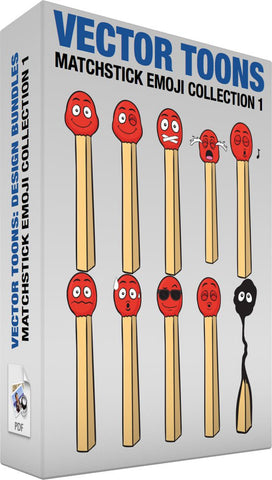 Matchstick Emoji Collection 1