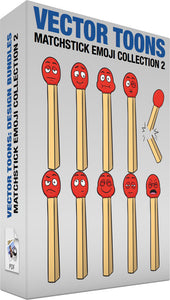 Matchstick Emoji Collection 2