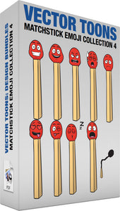 Matchstick Emoji Collection 4