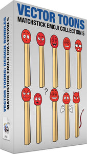 Matchstick Emoji Collection 5
