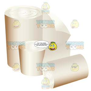 Rolls Of Paper Or Gauze
