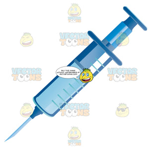 Needle Filled With Solution