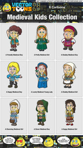 Medieval Kids Collection