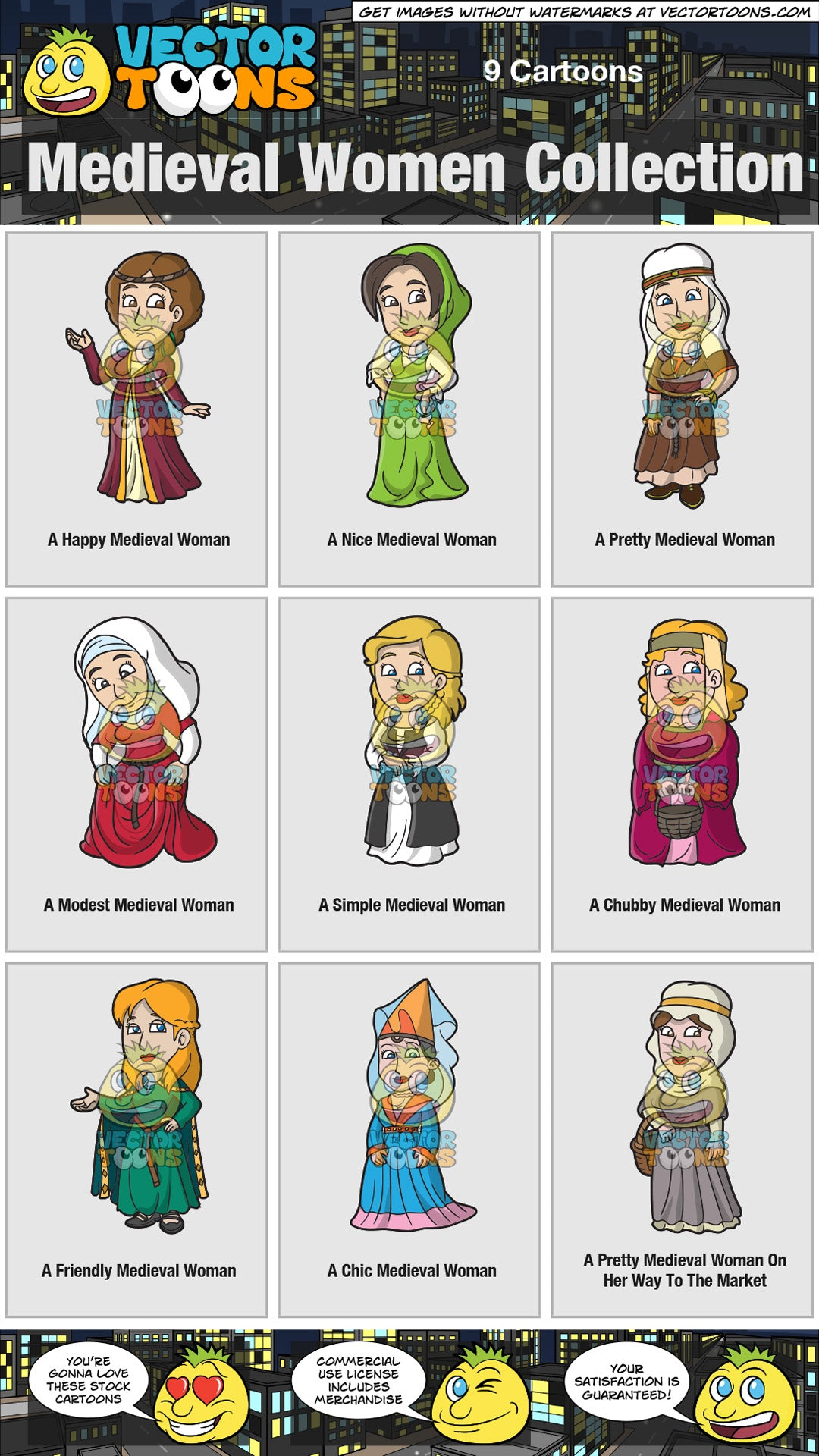 Medieval Women Collection