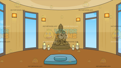 Meditation Room Background
