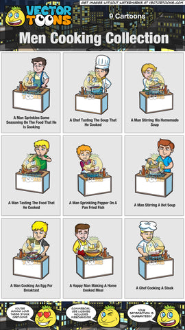 Men Cooking Collection