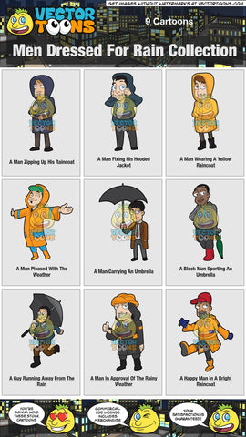 Men Dressed For Rain Collection