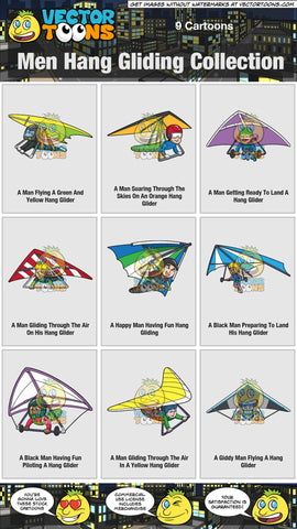 Men Hang Gliding Collection