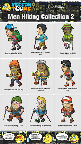 Men Hiking Collection 2