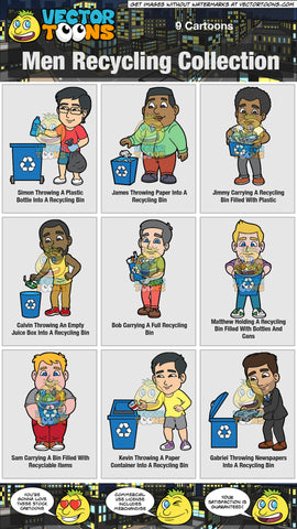 Men Recycling Collection