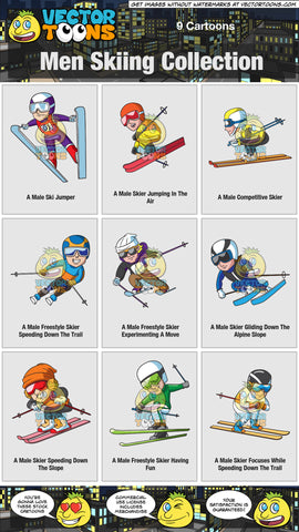 Men Skiing Collection