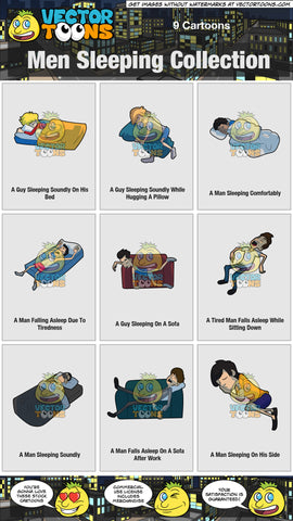 Men Sleeping Collection