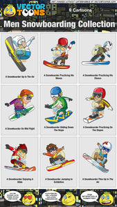 Men Snowboarding Collection