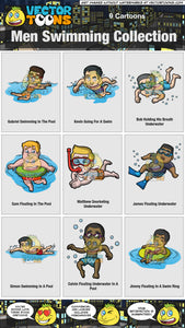 Men Swimming Collection 2