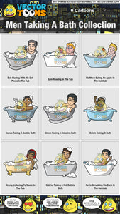 Men Taking A Bath Collection