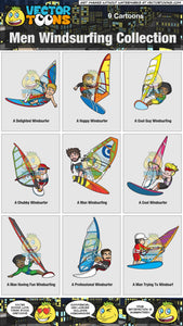 Men Windsurfing Collection