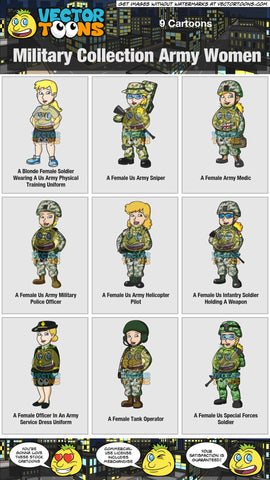 Military Collection Army Women