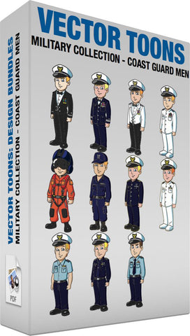 Military Collection Coast Guard Men