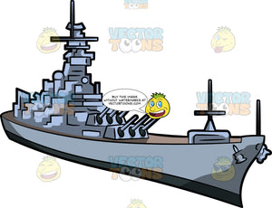 A Naval Warship