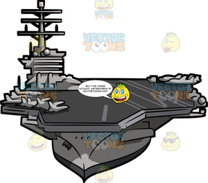 A Huge Aircraft Carrier