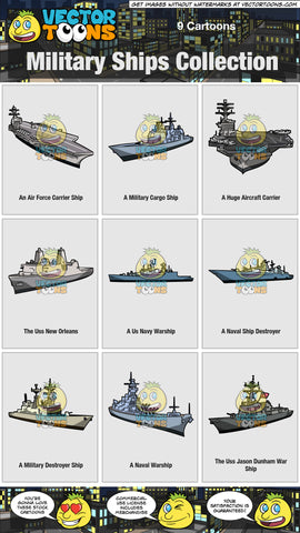 Military Ships Collection