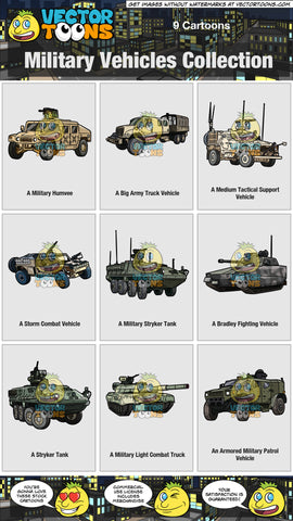 Military Vehicles Collection