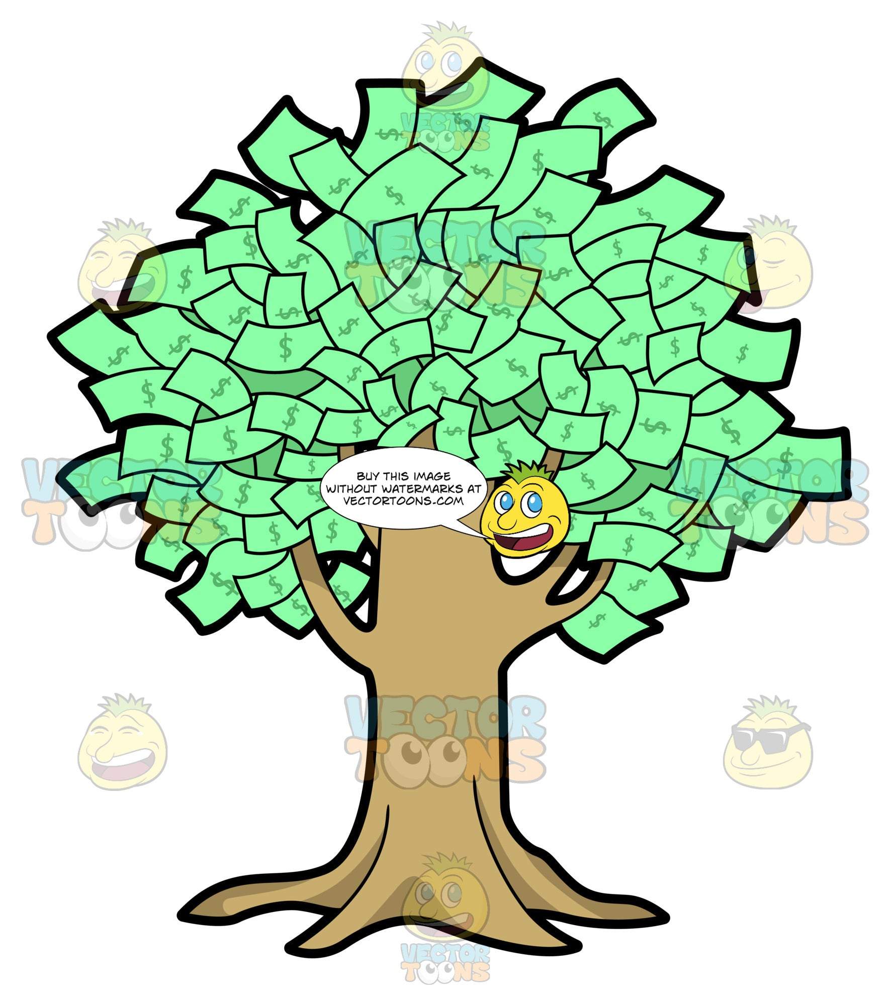 A Fruitful Money Tree