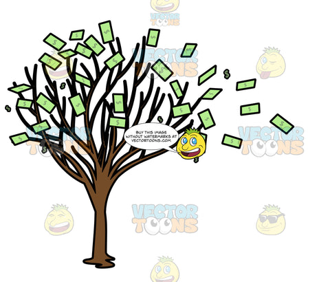 A Withering Money Tree