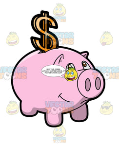 A Piggy Bank Dollar Savings