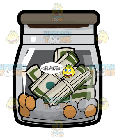 A Jar Of Savings