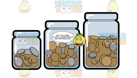 Jars Of Savings