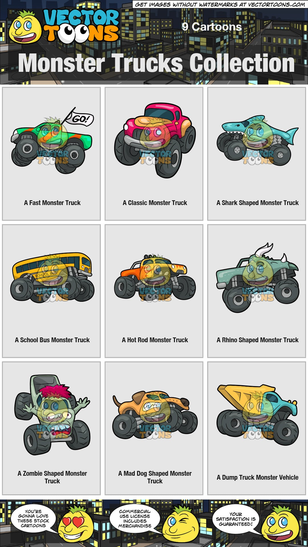 Monster Trucks Collection