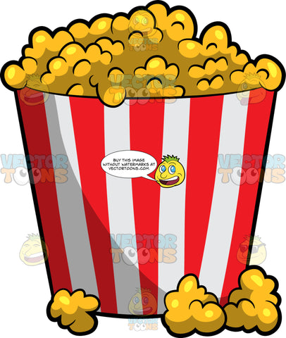 A Bucket Of Movie Theater Popcorn