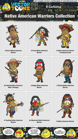Native American Warriors Collection