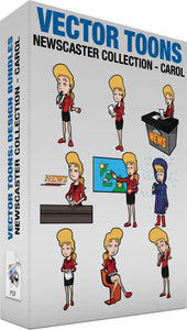Newscaster Collection Carol