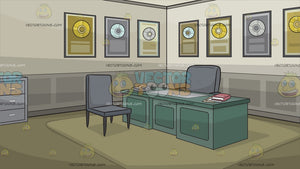 Office Of An Award Winning Record Producer Background