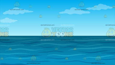 Open Sea Background