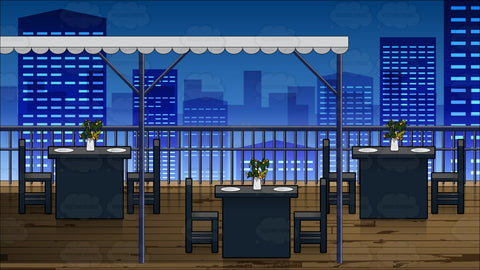 Outdoor Rooftop Patio Background