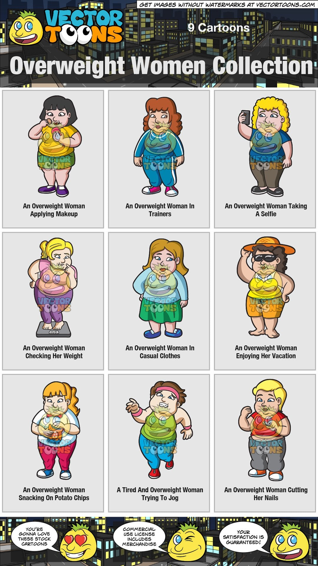 Overweight Women Collection