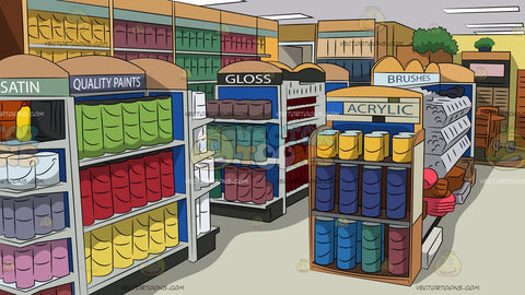 Paint Store Background