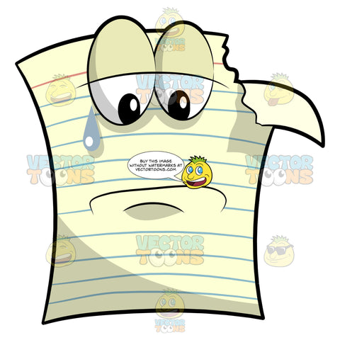 A Crying Sheet Of Yellow Pad