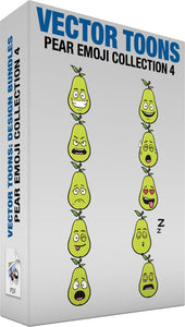 Pear Emoji Collection 4