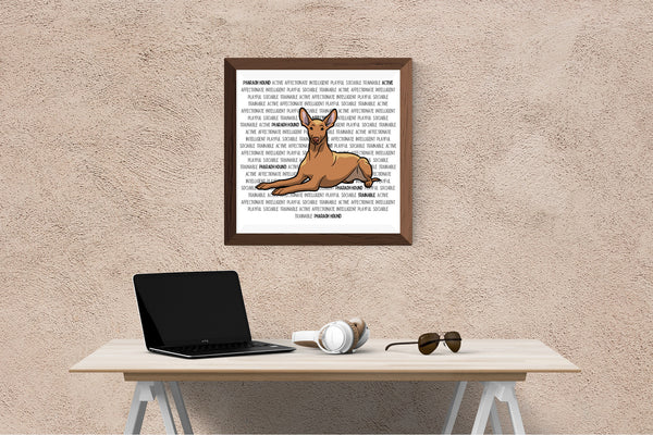 Pharaoh Hound Dog Printing / Embroidery Designs