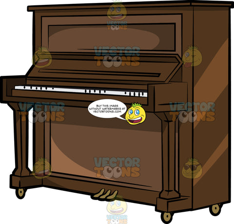 A Vintage Upright Piano